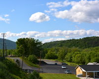 Pennsylvania vista and roads. Royalty Free Stock Image