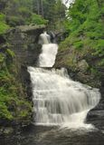 Pennsylvania Waterfall - Delaware Water Gap Royalty Free Stock Image