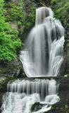 Pennsylvania Waterfall Detail Royalty Free Stock Image