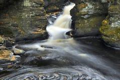 Pennsylvania Waterfall Movement Royalty Free Stock Image