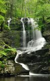 Pennsylvania Waterfall In Spring Royalty Free Stock Photography