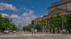 Pennsylwania aleja w Waszyngton zdjęcie royalty free