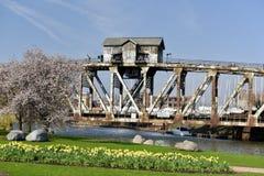 Pennsylwania linii kolejowej dźwignięcia most Żadny 458 Zdjęcie Royalty Free