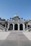 Pennsylwania stanu Capitol budynek W Harrisburg zdjęcie royalty free