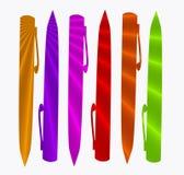 penntextur vektor illustrationer