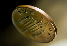 Penny. Royalty Free Stock Photos