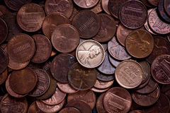 Penny Immagine Stock Libera da Diritti