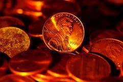Penny lizenzfreie stockfotos