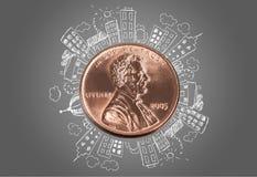 penny imagem de stock royalty free