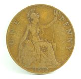 penny anglii Zdjęcie Stock