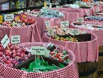 Penny Candy à vendre à une épicerie générale Photo stock