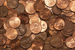 Penny Collection Stock Photography