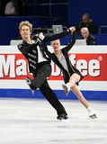 Penny COOMES / Nicholas BUCKLAND (GBR) Royalty Free Stock Photos