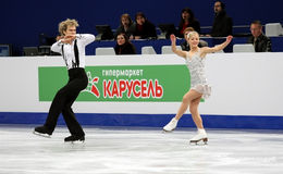 Penny COOMES / Nicholas BUCKLAND (GBR) Stock Photography