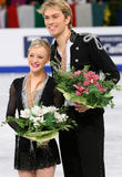 Penny COOMES / Nicholas BUCKLAND (GBR) Royalty Free Stock Images