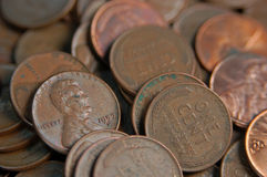 Penny de blé Photo libre de droits