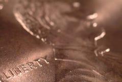 Penny de liberté Image libre de droits