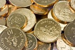 Penny del cioccolato   Fotografia Stock Libera da Diritti