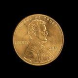 Penny des 2016 Etats-Unis Photographie stock