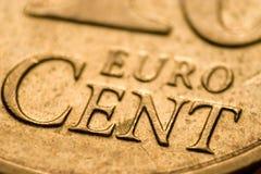 penny euro Obraz Royalty Free