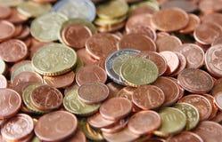 penny euro Zdjęcie Stock