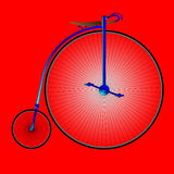 Penny Farthing Bicycle Royalty Illustrazione gratis