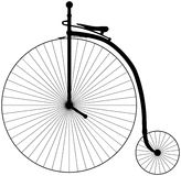 Penny Farthing Bicycle Illustrazione di Stock