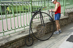 Penny Farthing Bicycle Royalty Free Stock Photo