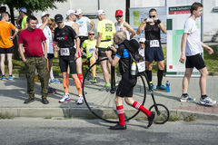 Penny Farthing Bicycle Stock Photography