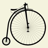 Penny-Farthing Bicycle Vector 01. Penny-Farthing Bicycle Illustration Vector Stock Photo