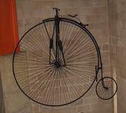 Penny farthing cycle Stock Photo