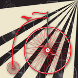 Penny-farthing Poster Stock Photography