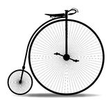 Penny Farthing Silhouette Stock Photo