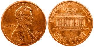 Penny Heads et queues Image libre de droits