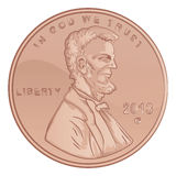 Penny Illustration Stock Photo