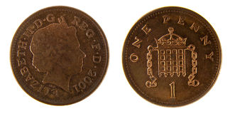Penny Royalty Free Stock Image
