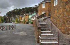 Penny-königliches Dorf Stockbilder