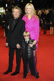 Penny Lancaster, Rod Stewart Stock Image