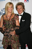Penny Lancaster, Rod Stewart Images stock