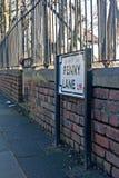 Penny Lane, Liverpool, Reino Unido Fotos de archivo