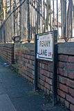 Penny Lane, Liverpool, UK Stock Photos