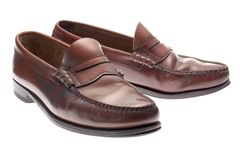 Penny Loafers Stock Image