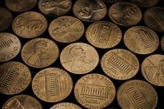 Penny Pattern 2 Royalty Free Stock Photo