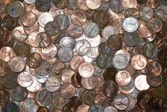 Penny pour vos pensées Image stock