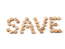 Penny saved Stock Images