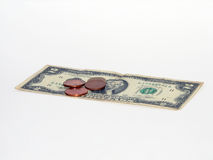 A penny saved is a penny gained Royalty Free Stock Images