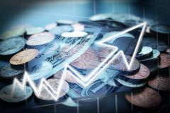 Penny Stock Investing High Quality-Voorraadfoto royalty-vrije stock fotografie