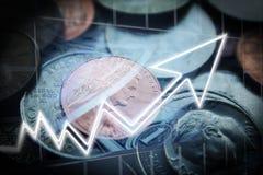 Penny Stock Investing Profits stock fotografie