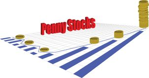Penny Stocks libre illustration