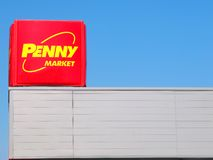 Penny Store Sign fotografia de stock royalty free